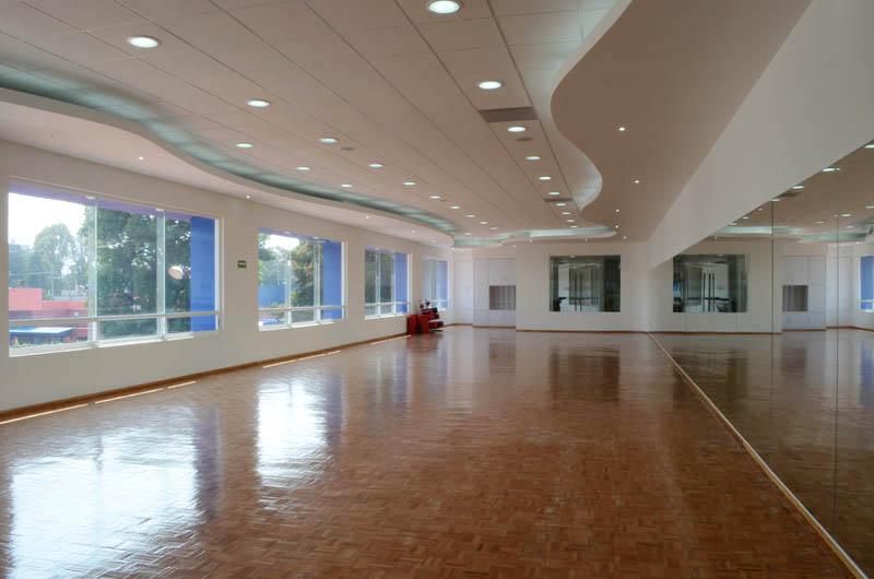 Centro deportivo coyoac n a c for Salon de usos multiples programa arquitectonico